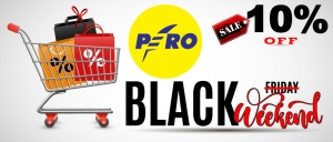 PERO: BLACK WEEKEND!
