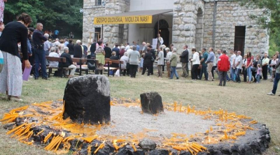 Blagdan Velike Gospe proslavljen u Olovu