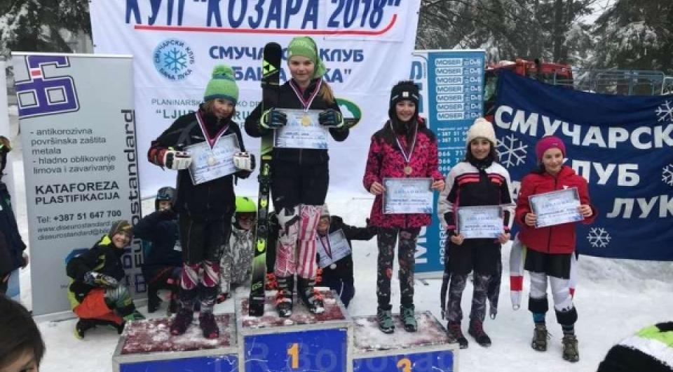 Za tri dana 3 medalje Ine Likić