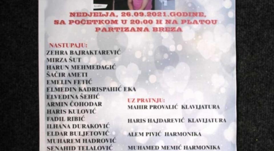 Humanitarni koncert za Asju Mahmutović