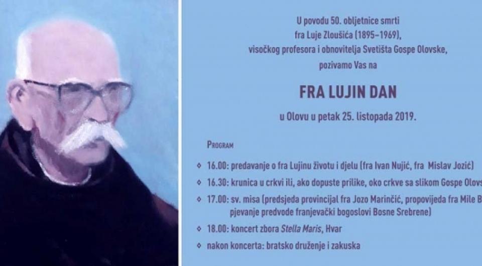 Obilježavanje 50. godišnjice smrti fra Luje Zloušića