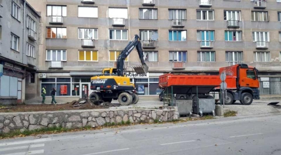 Uređenje parkinga naspram Općine Vareš